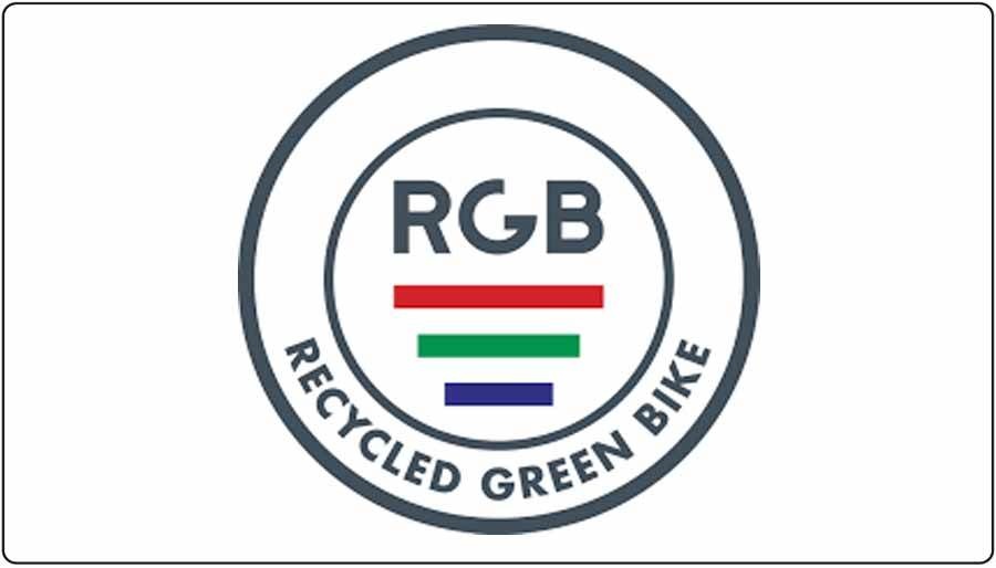 De Recycled Green Bike RGB